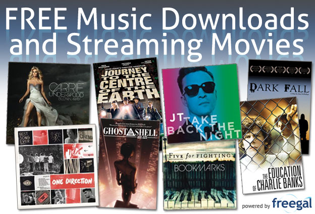 FREE Music Downloads & Streaming Movies
